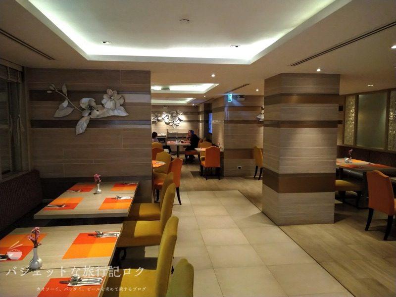 デュシット・プリンセス・チェンマイの朝食ビュッフェレストラン