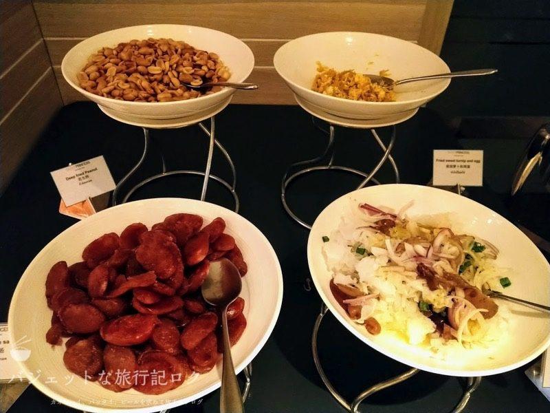 デュシット・プリンセス・チェンマイの朝食ビュッフェ料理