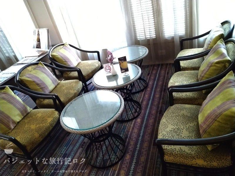 デュシット・プリンセス・チェンマイのロビーの休憩設備