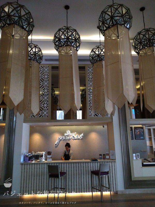 デュシット・プリンセス・チェンマイのカフェエリア