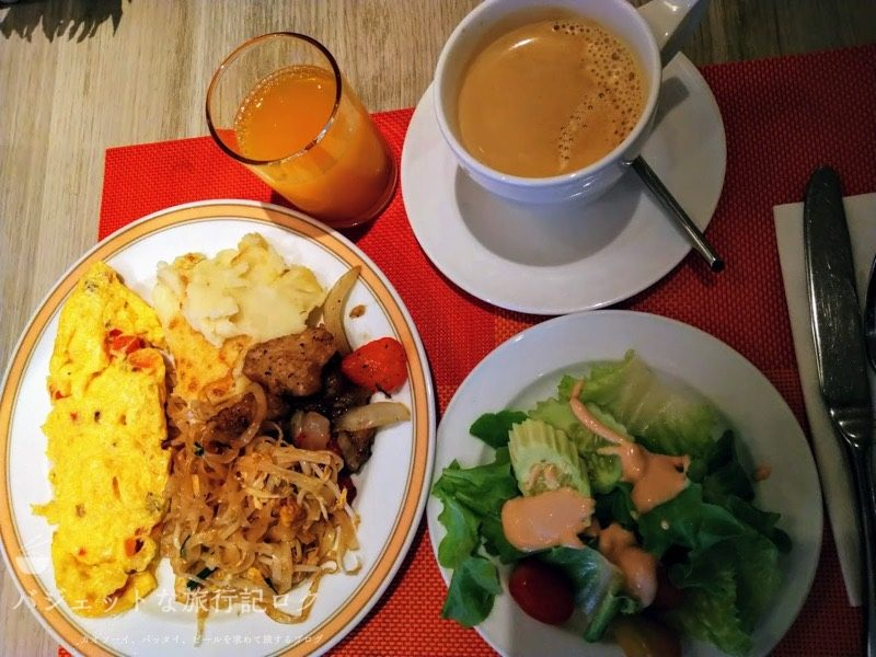 デュシット・プリンセス・チェンマイの朝食ビュッフェ:2日目の食事