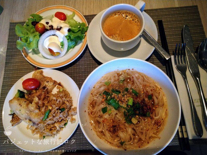 デュシット・プリンセス・チェンマイの朝食ビュッフェ:3日目の食事