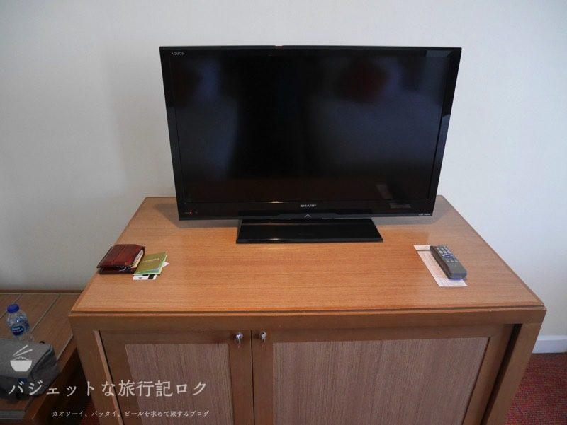デュシット・プリンセス・チェンマイの客室にあるテレビ