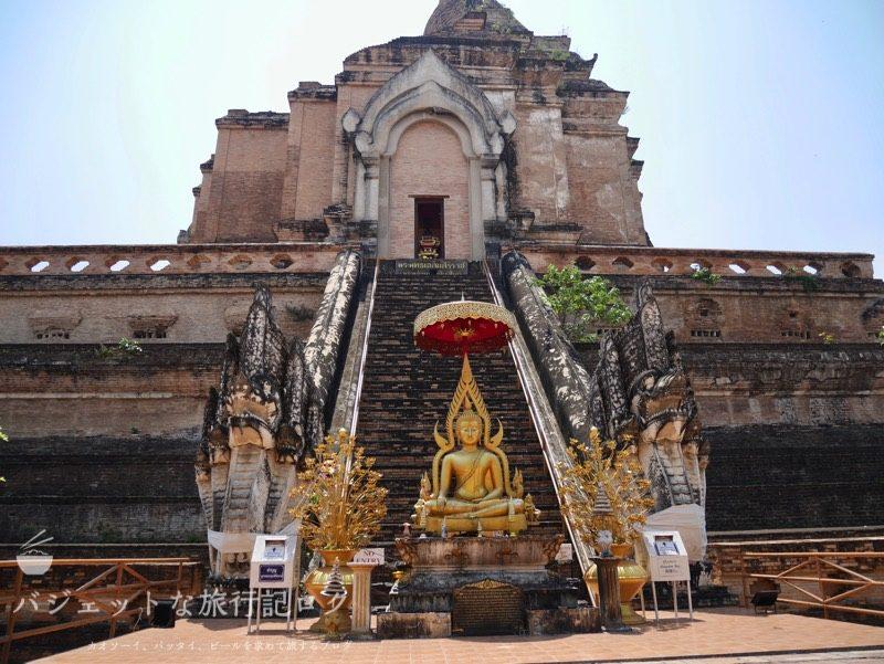 ワット・チェーディールワン(仏塔の外観)