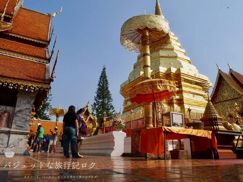 男子女子兼用、チェンマイひとり旅。おすすめホテル、観光ツアー(お寺、寺院巡り観光)