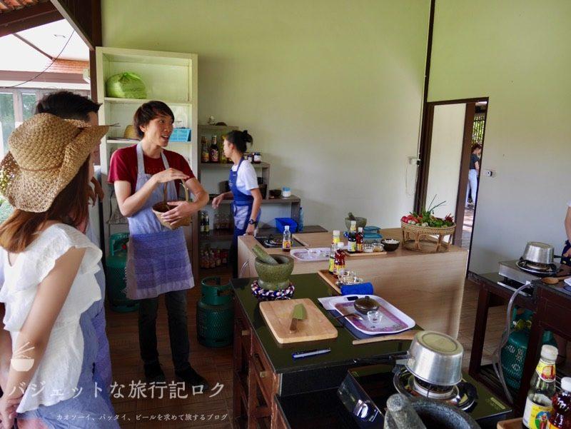 チェンマイ料理教室(最初に可愛い女子出して詐欺じゃね)