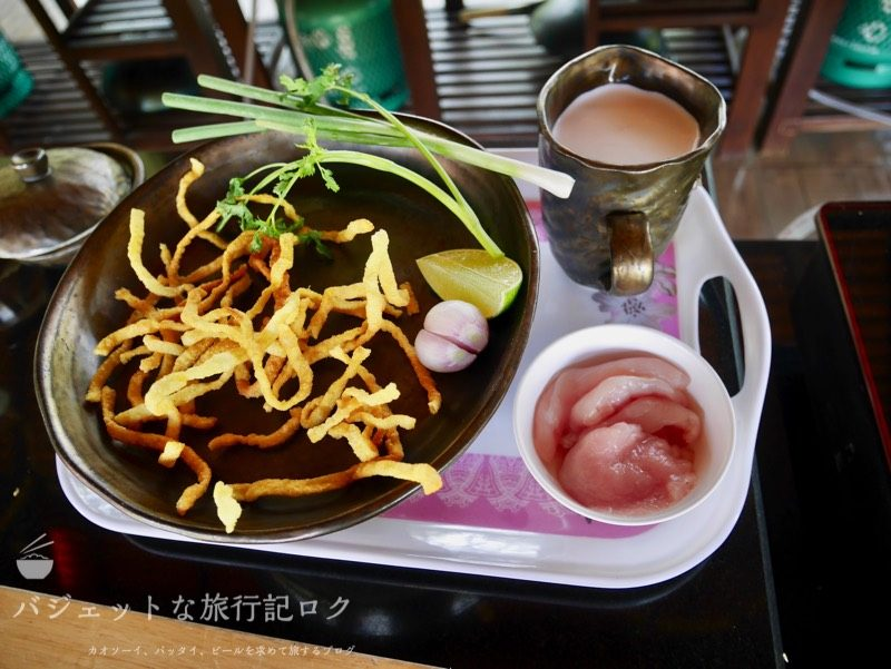 チェンマイ料理教室(カオソーイ材料)