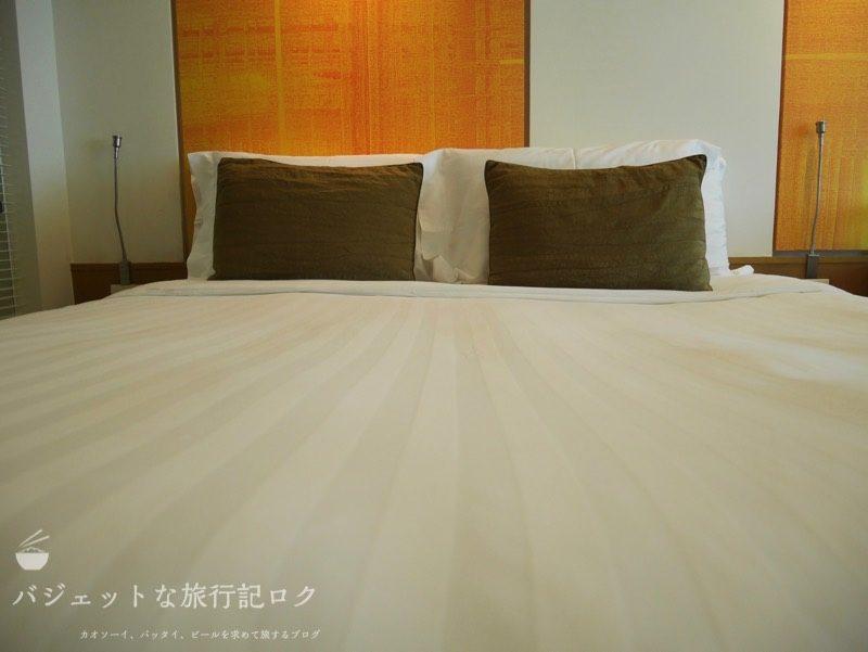 デュシットD2チェンマイ客室(ベッド)