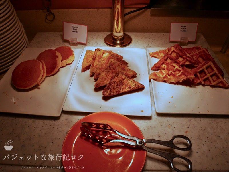 デュシットD2チェンマイの朝食ビュッフェ(パン類)