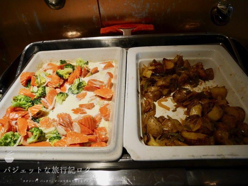 デュシットD2チェンマイの朝食ビュッフェ(ディッシュ)