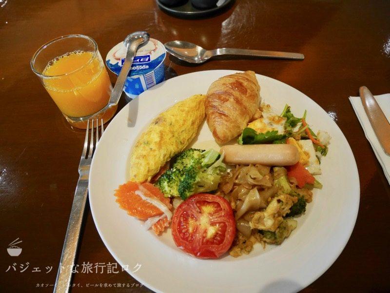 デュシットD2チェンマイ 初日の朝食