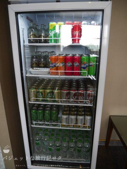 チェンマイ国際空港のコーラルエグゼクティブラウンジのソフトドリンク・ビール(プライオリティパスで楽しめちゃう)