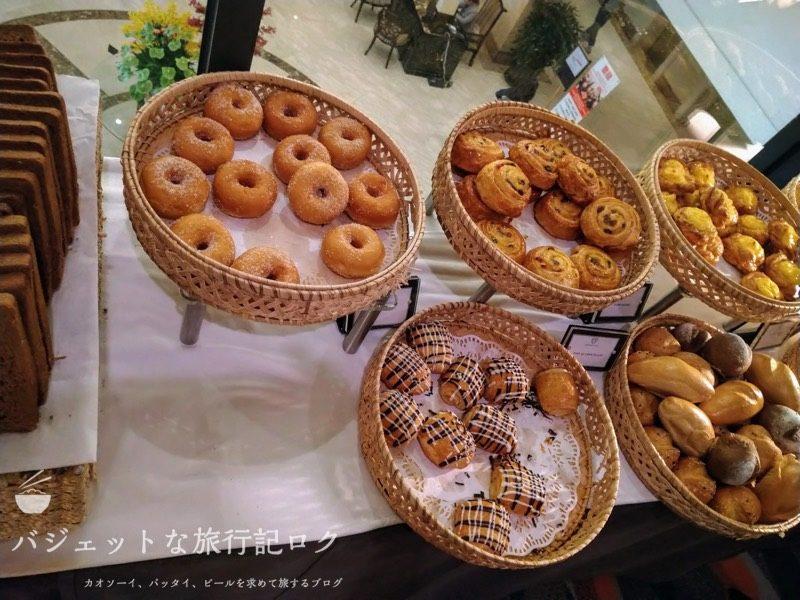 ベトナム・ホーチミンシティ1区のサイゴンプリンスホテル(朝食ビュッフェ・パン類)