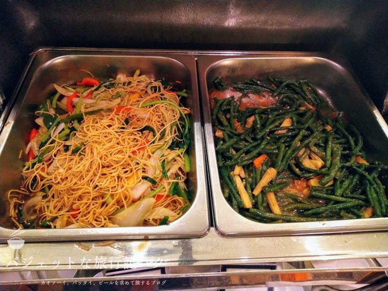 ベトナム・ホーチミンシティ1区のサイゴンプリンスホテル(朝食ビュッフェ・メイン料理)