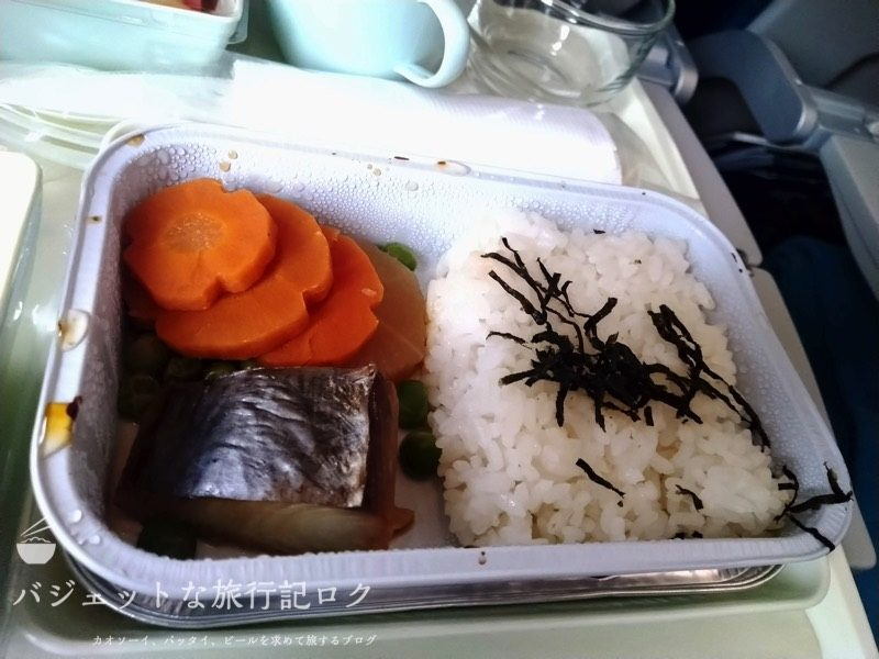 ベトナム航空VN300(2019年6月の朝食メニュー)