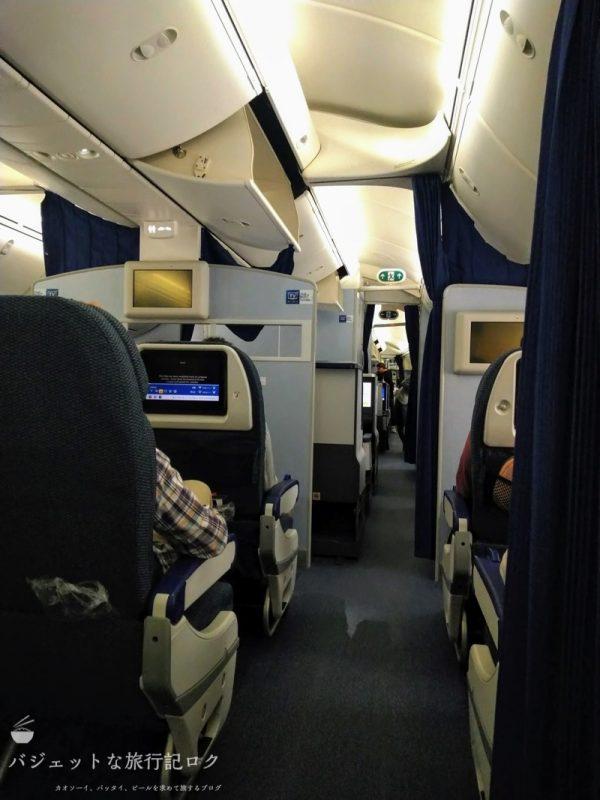 ANA/NH870の搭乗記。マニラから羽田へのフライト(だけど嫉妬しちゃう配置であった)