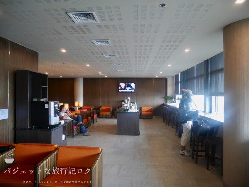マニラ空港第3ターミナルPAGSSラウンジ(ニノイ・アキノ国際空港)のラウンジスペース