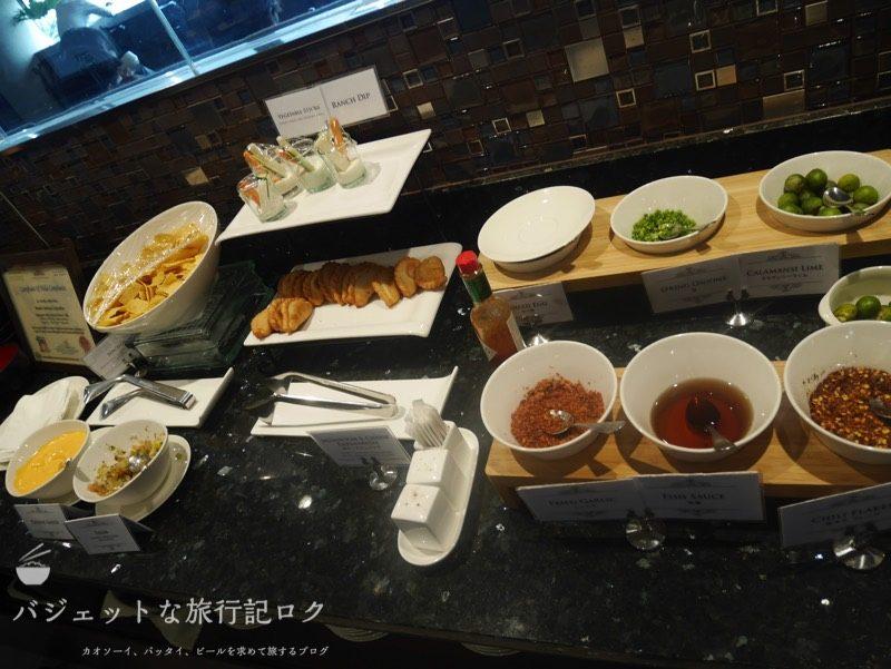 マニラ空港第3ターミナルPAGSSラウンジ(ニノイ・アキノ国際空港)の軽食・食事・ダイニング