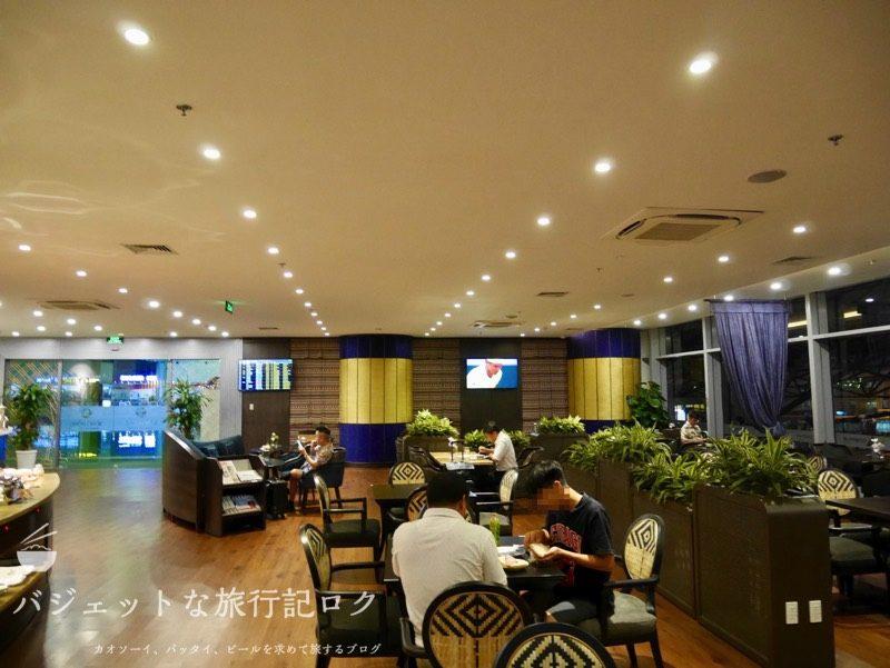 ハノイ・ノイバイ国際空港ソン・ホン・プレミアム・ラウンジ(ラウンジ風景)
