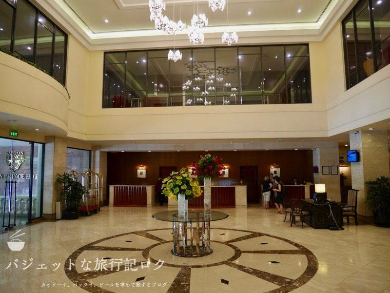 ベトナム・ホーチミンシティ1区のサイゴンプリンスホテル(ホテルロビー)