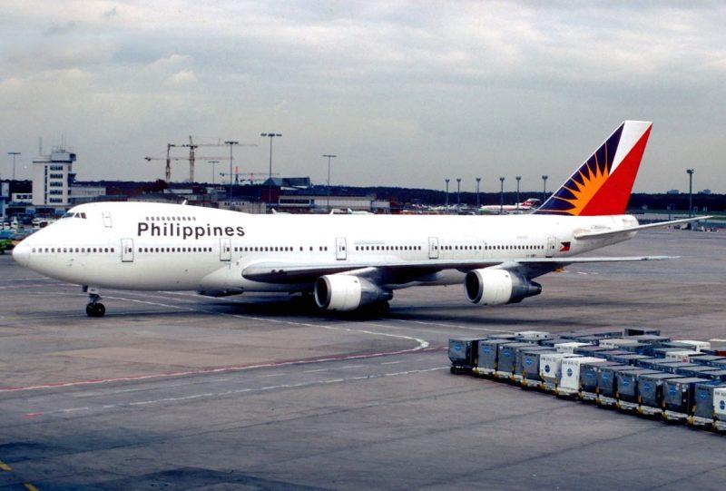 フィリピン航空マブハイマイルへのステータスマッチ。ANAプラチナからプレミアエリート会員へ(フィリピン航空のB747)