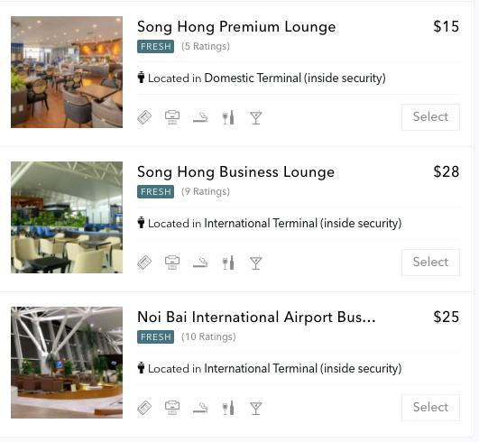 ハノイ・ノイバイ国際空港の有料で使えるラウンジ