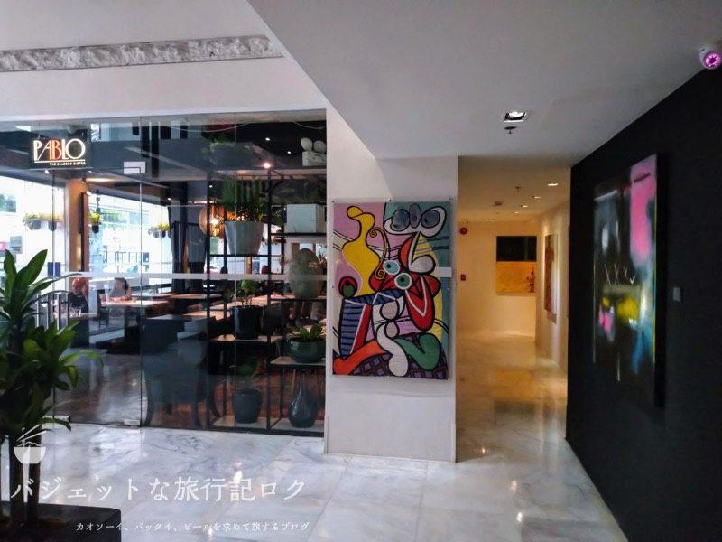 ザ・ピカソ・ブティック・サービスド・レジデンシズ - The Picasso Boutique Serviced Residence(ロビー、エントランス・受付)