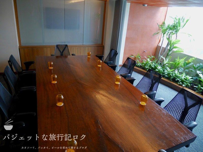 デュシタニマニラ・クラブラウンジ(会議スペース)