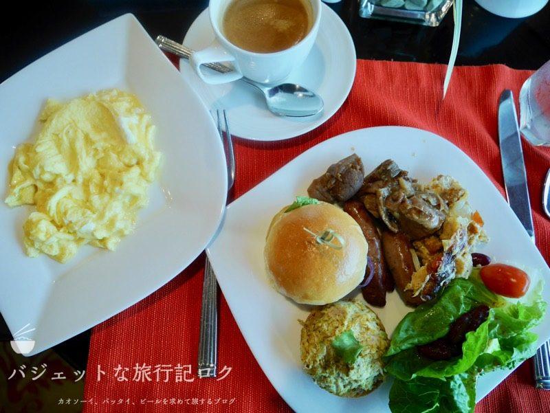 デュシタニマニラ・クラブラウンジ(この日の朝食)