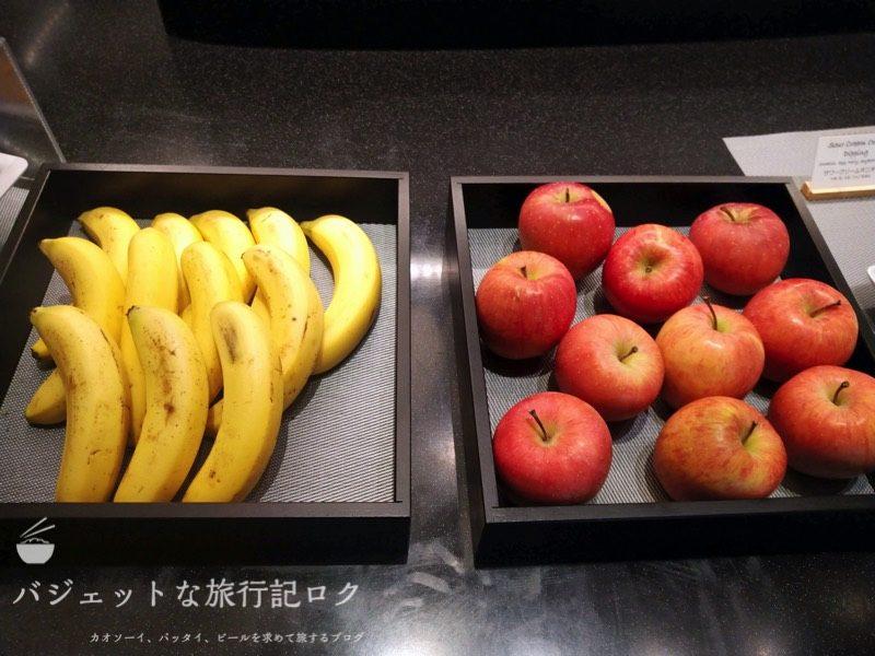 ANAはフィリピン航空のコードシェア便で使える成田空港アメリカン航空アドミラルズラウンジ(軽食、フルーツ)