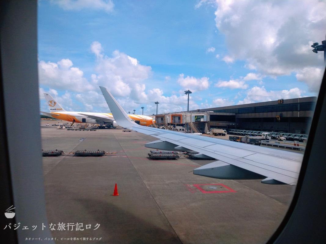 フィリピン航空 A321-231エコノミークラス搭乗記/PR427(機体から見た風景)