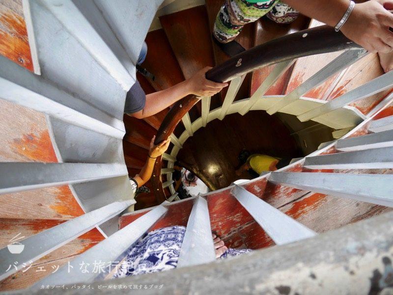 世界遺産アユタヤ観光のバーンパイン宮殿(高台を登っていく)