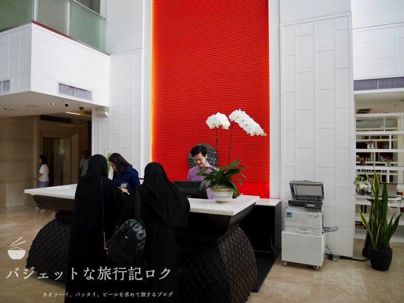 【宿泊記】デュシット・スイート・ホテル・ラチャダムリ・バンコク(チェックインカウンター)