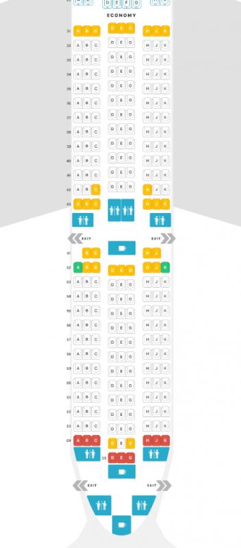 フィリピン航空A350-900へ搭乗。二転三転プレミアムエコノミー(PR A350-900 Yクラス座席)