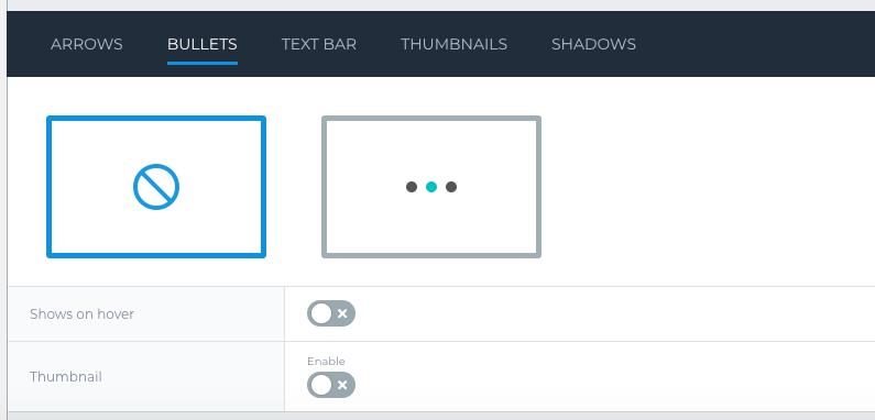 ワードプレス - Cocoonテーマ環境で使えるスライドショープラグイン「Smart Slider3」(BULLET表示の指定)