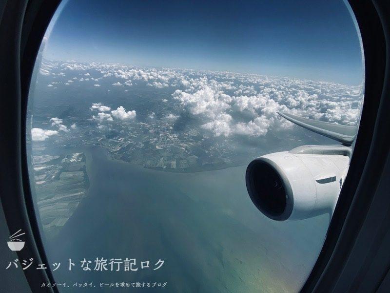 タイ国際航空 ビジネスクラス搭乗記(B777-200/TG551,ホーチミン~バンコク)