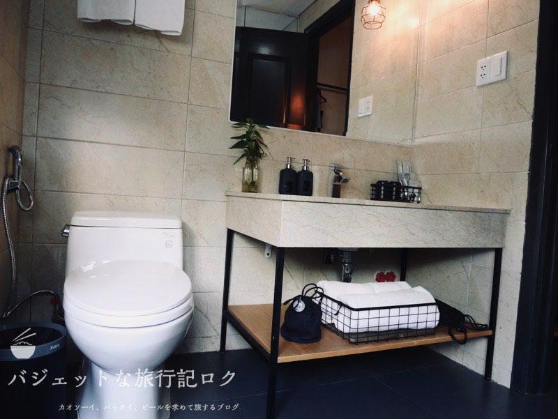ザ・ハンモックホテルベンタン宿泊記(広くて使いやすいシャワー・バスルーム)