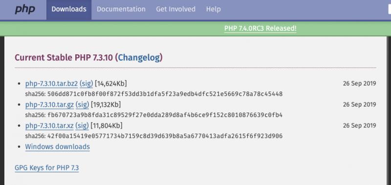 カラフルボックスのPHPが古い。安全なバージョンアップ方法(php7.3は安全らしい)