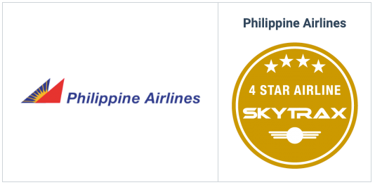 フィリピン航空の特徴・評判(英国スカイトラックス社の評価で4スターを獲得)