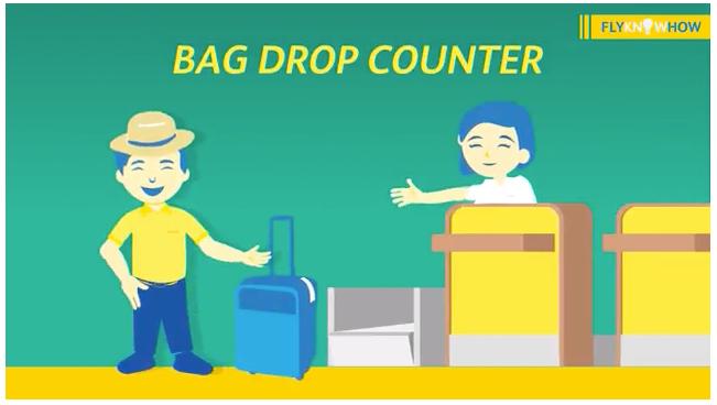 セブパシフィック航空のウェブ・モバイルチェックイン(預入荷物がある場合は空港カウンターに立ち寄る必要があります)