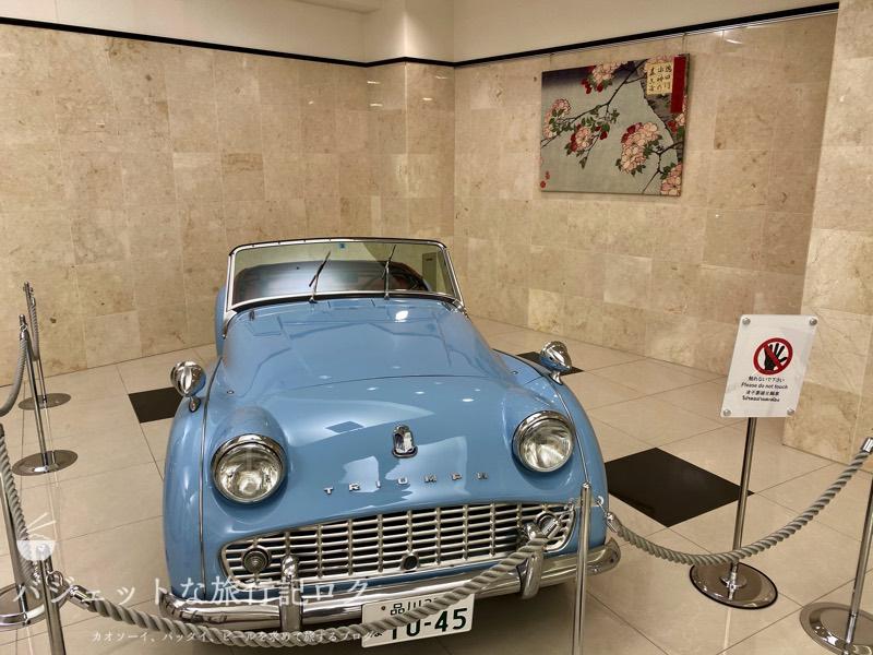 東横イン成田空港新館の宿泊記(本館にある年代物のの自動車)