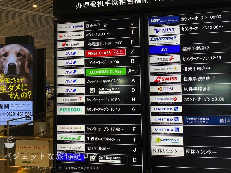 成田空港第1ターミナル南ウィング