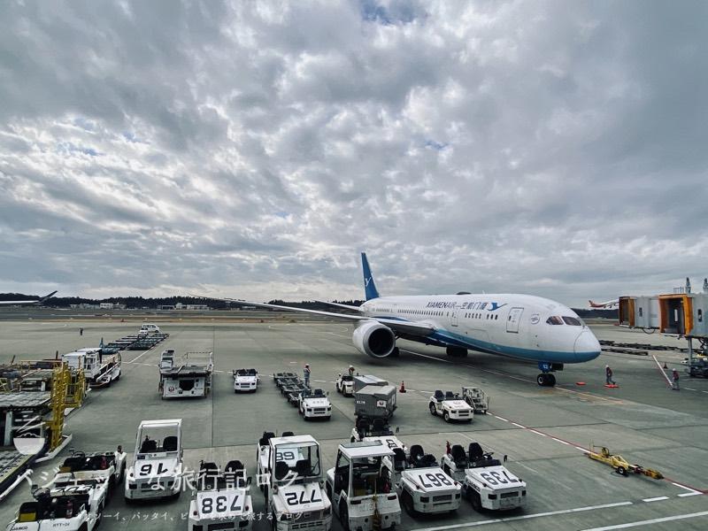 成田空港ユナイテッド航空・ユナイテッドクラブ・ラウンジ(厦門航空さん間近に登場!)