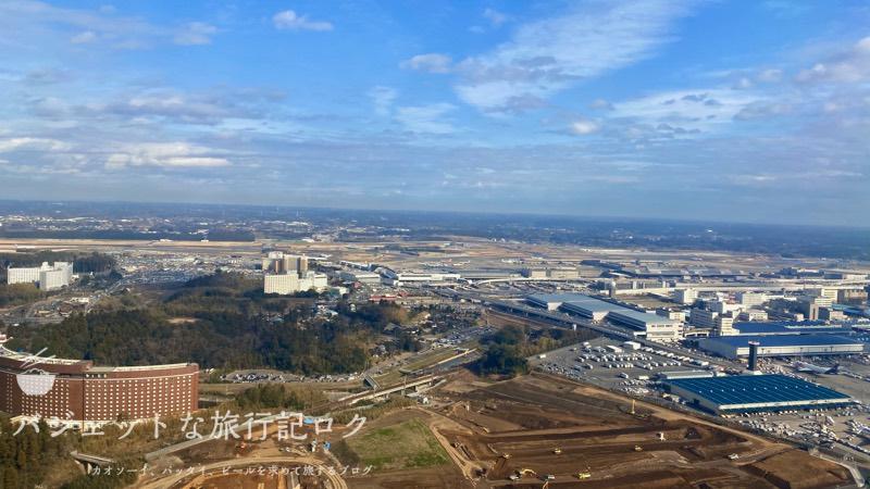 アシアナ航空A330-300ビジネスクラス2連続搭乗記(成田の風景)