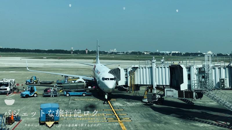 マレーシア航空B737-800/MH751搭乗記(搭乗の様子)