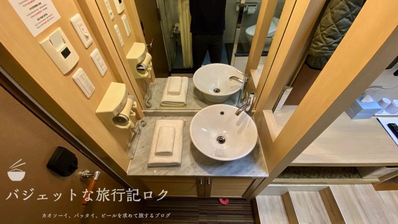 かりゆしLCH泉崎 宿泊記(洗面台)