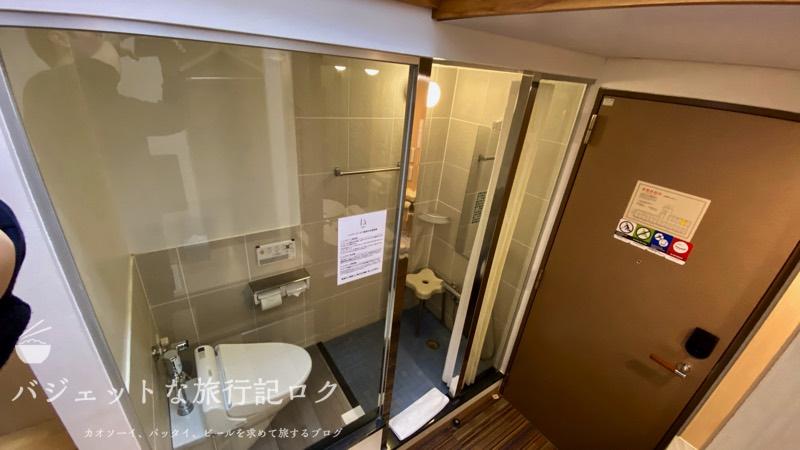 かりゆしLCH泉崎 宿泊記(ドアなしで繋がるシャワールーム)
