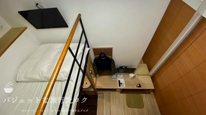 かりゆしLCH泉崎 宿泊記(ベッドからの風景)