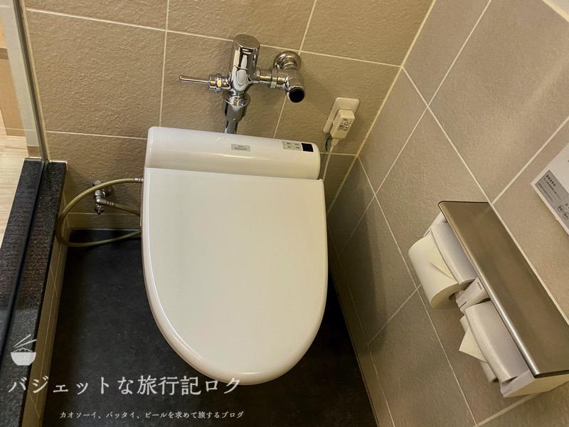かりゆしLCH泉崎 宿泊記(ウォシュレット付きのトイレ)