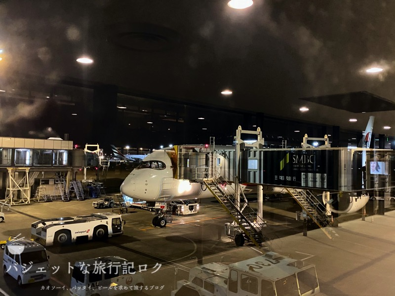 マレーシア航空A350-900ビジネススイート搭乗記(A359のフロントマスクがイケメンな件について)